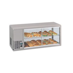 Gamko DESIGN: Refrigerated display case | Gamko AV / MS131 | Sliding Glass / Fixed Square | 1310x510x540 / 550 / 565mm