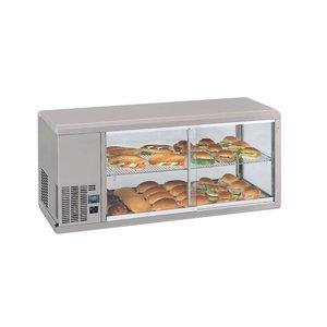 Gamko DESIGN: Refrigerated display case   Gamko AV / MS131SF   Sliding Glass / Windows Flip   1310x510x540 / 550 / 565mm