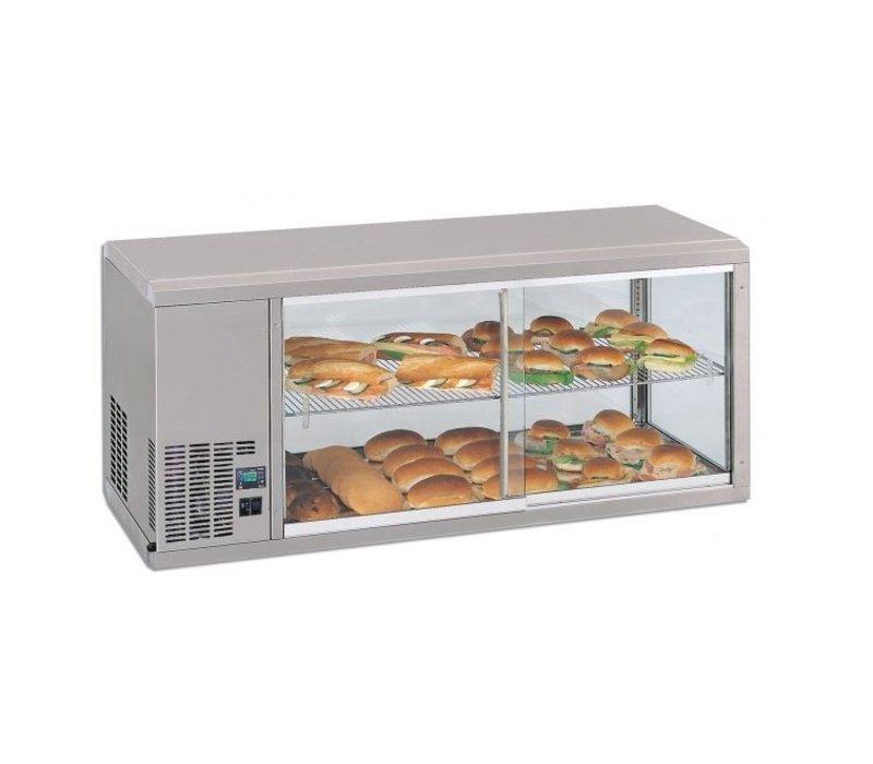 Gamko DESIGN: Refrigerated display case | Gamko AV / MS131SF | Sliding Glass / Windows Flip | 1310x510x540 / 550 / 565mm