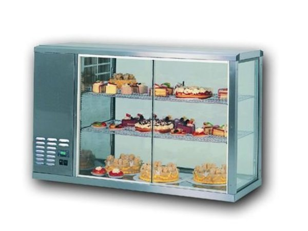 Gamko Refrigerated display case design High Model | Gamko AV / MS131H | Sliding Glass / Fixed Square | 1310x510x815 / 825 / 840mm