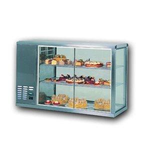 Gamko Refrigerated display case design High Model | Gamko AV / MS131HSF | Sliding Glass / Windows Flip | 1310x510x815 / 825 / 840mm