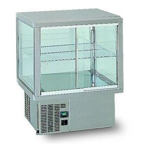 Gamko Recessed Refrigerated display case | Gamko AV / MU64SF | Under Machine | Sliding Glass / Windows Flip | 642x610x782 / 792 / 807mm