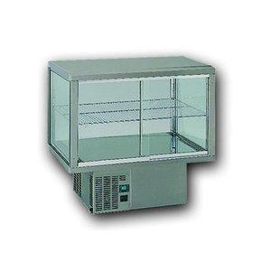 Gamko Inbouwkoelvitrine | Gamko AV/MU84SF | Machine Onder | Schuifruiten/Klapramen | 842x610x782/792/807mm