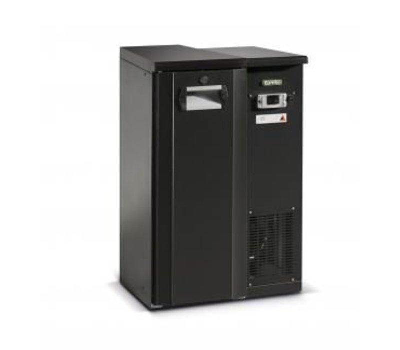 Gamko Fust Kühlung Halb Tür Anthrazit | Gamko FKG20 / 2 | Maschine Recht | 555x567x848 / 860mm