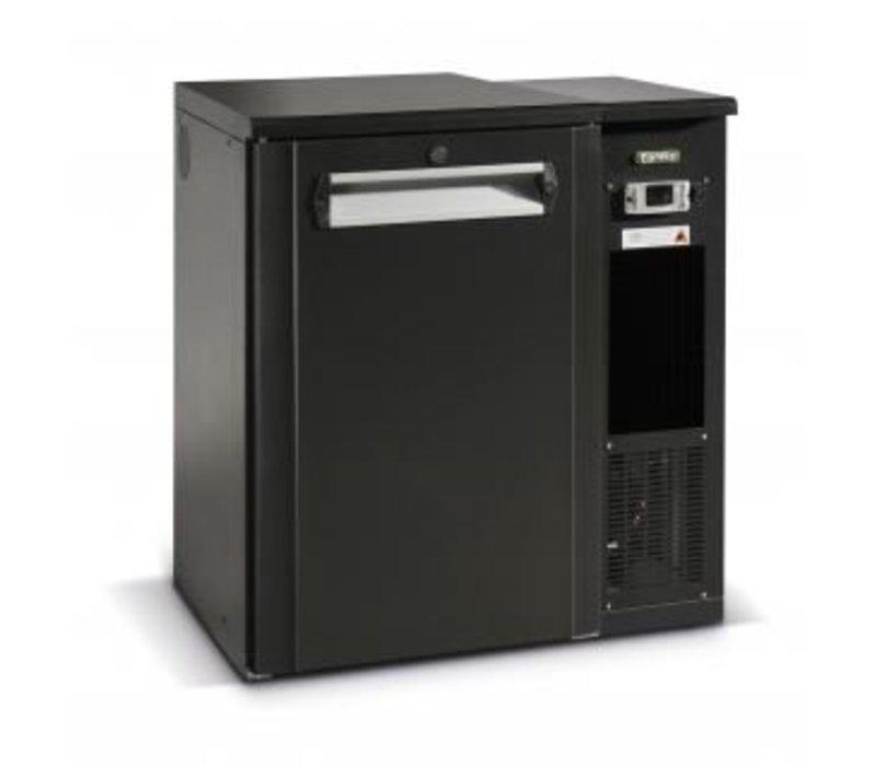Gamko Fust Kühlen 1-Tür-anthrazit | Gamko FKG25 / 4R | Maschine Recht | 880x590x860 / 880mm