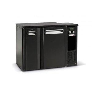 Gamko Fust Kühlung Halb Tür Anthrazit | Gamko FKG25 / 6R | Maschine Recht | 1110x590x860 / 880mm