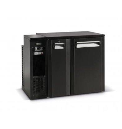 Gamko Fust Cooling half-Door Anthracite   Gamko FKG25 / 6L   Machine Links   1110x590x860 / 880mm