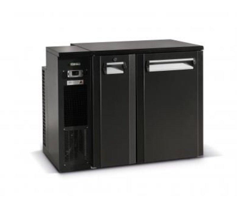 Gamko Fust Kühlung Halb Tür Anthrazit | Gamko FKG25 / 6L | Maschinen Links | 1110x590x860 / 880mm