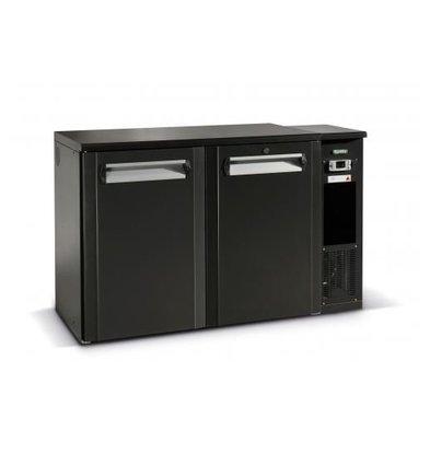 Gamko Fust Cooling 2-Door Anthracite   Gamko FKG25 / 8R   Machine Right   1350x590x860 / 880mm