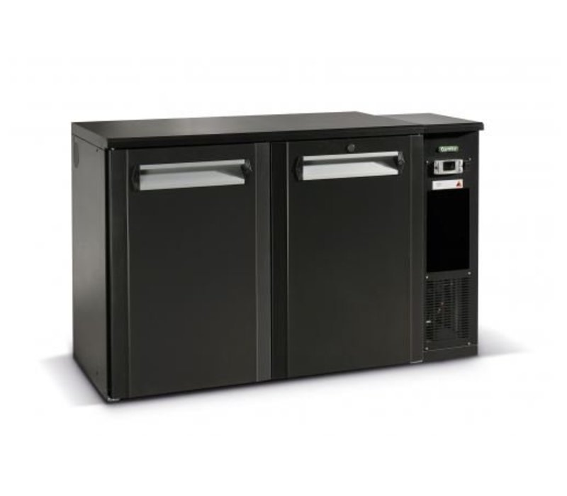 Gamko Fust Cooling 2-Door Anthracite | Gamko FKG25 / 8R | Machine Right | 1350x590x860 / 880mm