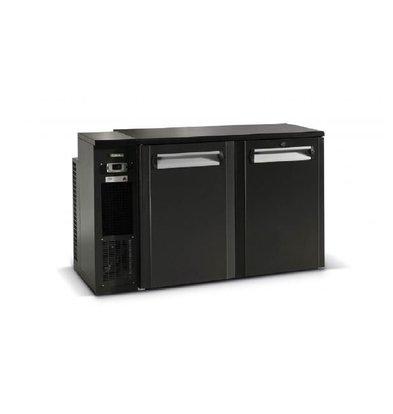 Gamko Fust Cooling 2-Door Anthracite   Gamko FKG25 / 8L   Machine Links   1350x590x860 / 880mm
