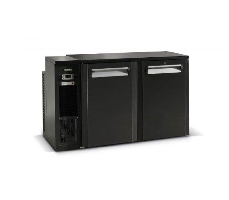 Gamko Fust Cooling 2-Door Anthracite | Gamko FKG25 / 8L | Machine Links | 1350x590x860 / 880mm