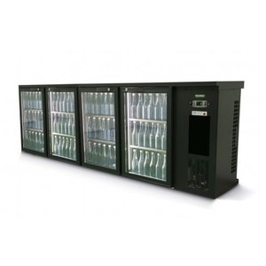 Gamko Flasche Chill-4-Tür | anthrazit | Gamko E3 / 2222GMU | 728 L | ECO-Line | 2542x492x840 / 880mm