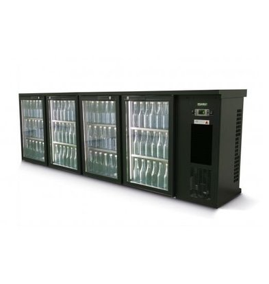 Gamko Bottle Chill 4-Door | anthracite | Gamko E3 / 2222GMU | 728 L | ECO-Line | 2542x492x840 / 880mm