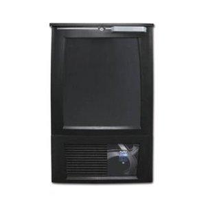 Gamko Stand-Alone Freezer Anthracite | Gamko X / SFLA | Counterclockwise | 35x 33cl. | 540x577x840 / 880mm