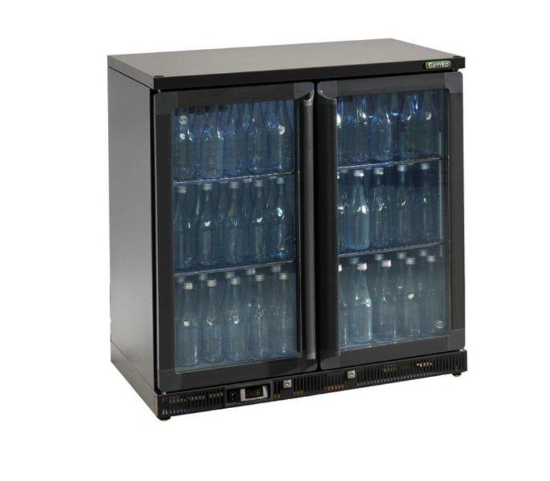 Gamko Flasche Chill-2 Pendeltüren   anthrazit   Gamko MG2 / 250G   250L   900x536x900 / 910mm