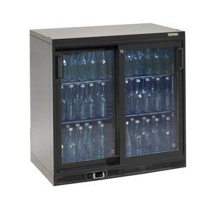 Gamko Bottles Cooling 2 Doors | anthracite | Gamko MG2 / 250SD | 250L | 900x556x900 / 910mm