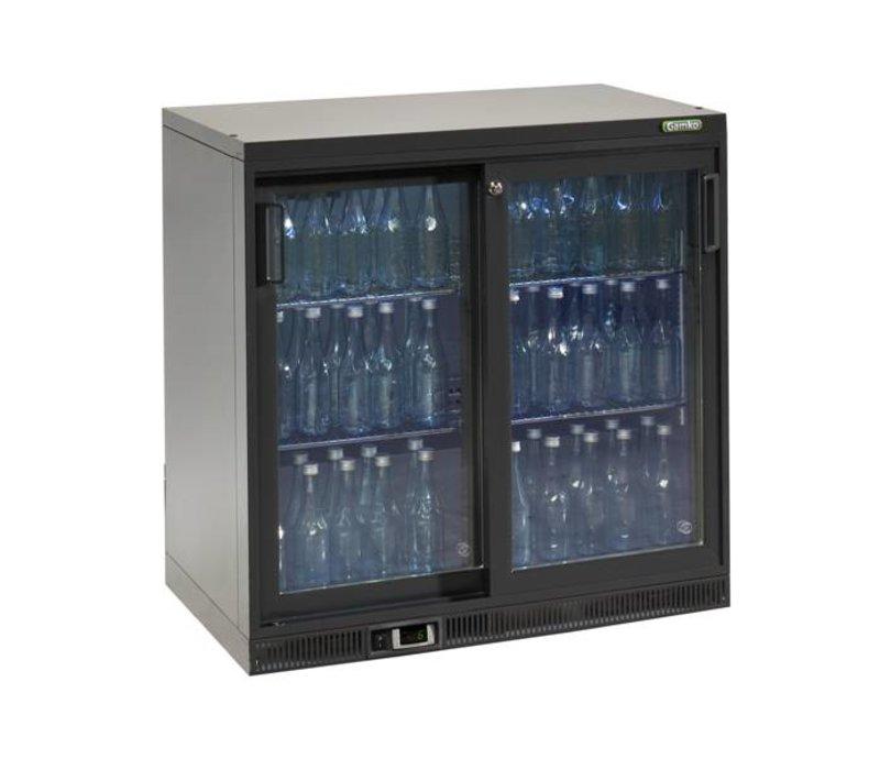 Gamko Flaschen Kühlen 2 Türen | anthrazit | Gamko MG2 / 250SD | 250L | 900x556x900 / 910mm