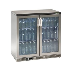 Gamko Bottle Chill 2 Swing doors | Chrome Language | Gamko MG2 / 250GCS | 250L | 900x536x900 / 910mm