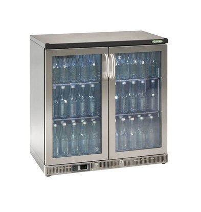 Gamko Flasche Chill-2 Pendeltüren | Chrome Sprache | Gamko MG2 / 250GCS | 250L | 900x536x900 / 910mm