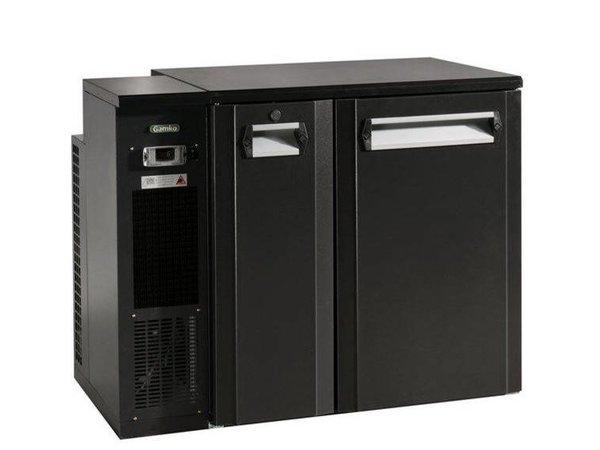 Gamko Fust 1.5 Kühlung Türen | Gamko FK2-25 / 6L | Chiller Links | LED-Beleuchtung | 1110x567x860 / 880mm