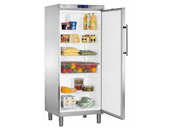 Liebherr Koelkast RVS Gastronomie op Poten | Liebherr | 583 Liter | 2/1GN | GKv 5760 | 75x75x(h)186cm
