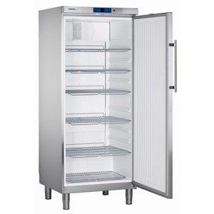 Liebherr Kühlschrank Edelstahl Gastronomie Beine   Liebherr   437 Liter   2/1 GN   GKN 5760   75x75x (h) 186cm