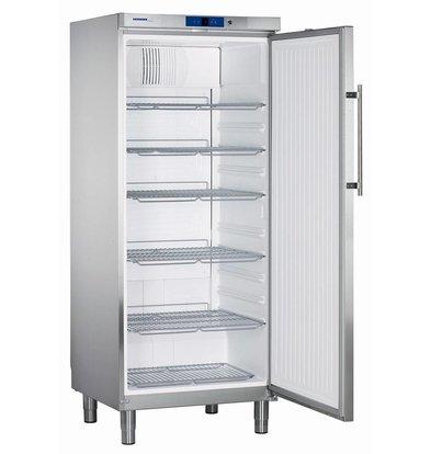 Liebherr Refrigerator Stainless Gastronomy on Legs | Liebherr | 437 Liter | 2 / 1GN | GKN 5760 | 75x75x (h) 186cm