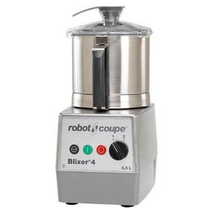 Robot Coupe Blixer 4 - Robot Coupe | 4.5 Liter | 900W / 400V | 2 Speed: 1500 & 3000 RPM