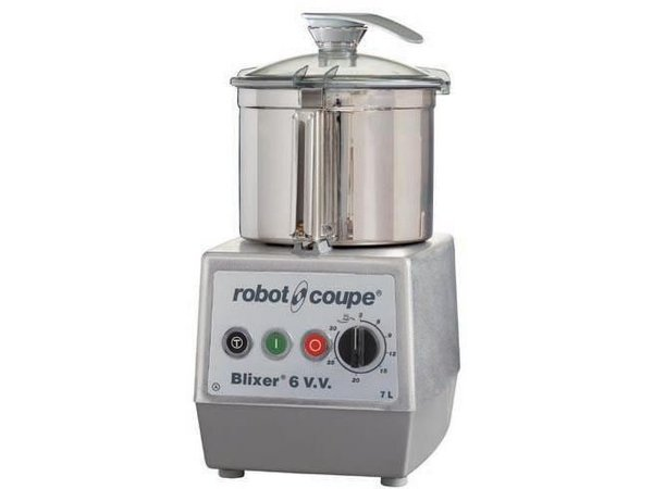 Robot Coupe Blixer 6VV - Robot Coupe | 7 Liter | 1500W | Variable Speed: 300-3500 RPM