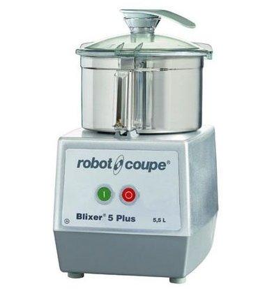 Robot Coupe Blixer 5 PLUS - Robot Coupe | 5,5 Liter| 1,3kW/400V | 2 Snelheden: 1.500 & 3.000 TPM