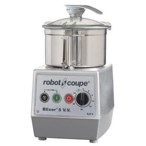 Robot Coupe Blixer 5VV - Robot Coupe | 5.5 Liter | 1400W | Variable Speed: 300-3500 RPM