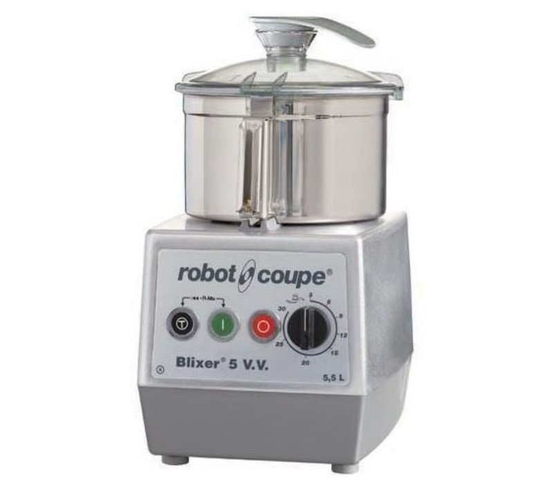 Robot Coupe Blixer 5VV - Robot Coupe | 5,5 Liter | 1400W | Variable Speed: 300-3500 RPM