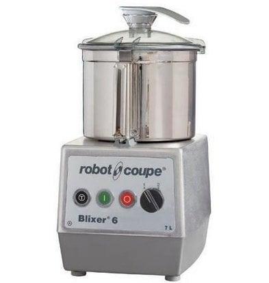 Robot Coupe Blixer 6 - Robot Coupe | 7 Liter | 1,3kW / 400V | 2 Geschwindigkeiten: 1500-3000 RPM