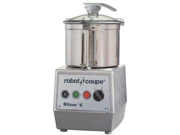 Robot Coupe Blixer 6 - Robot Coupe | 7 Liter | 1,3kW / 400V | 2 Speeds: 1500-3000 RPM