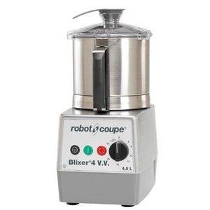 Robot Coupe Blixer 4VV - Robot Coupe   4,5 Liter   1100W   Variabele Snelheid: 300 - 3.500 TPM