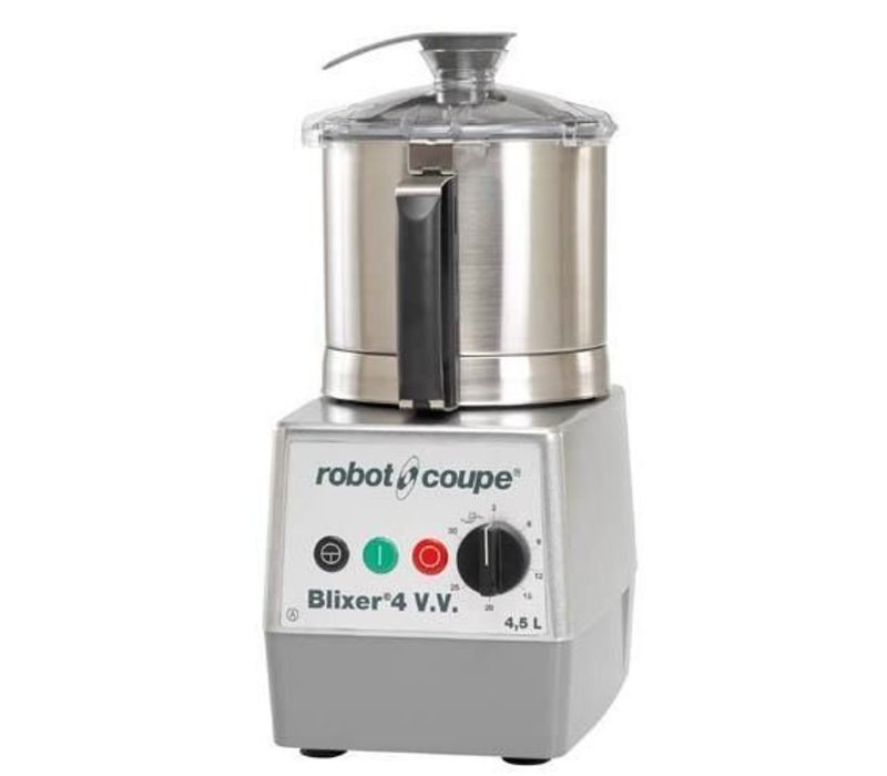 Robot Coupe Blixer 4VV - Robot Coupe | 4.5 Liter | 1100W | Variable Speed: 300-3500 RPM