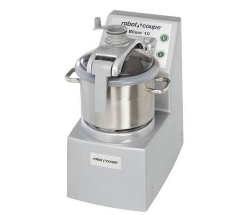 Robot Coupe Blixer 10VV - Robot Coupe | 11,5 Liter | 2600W | Variable Speed: 300-3500 RPM