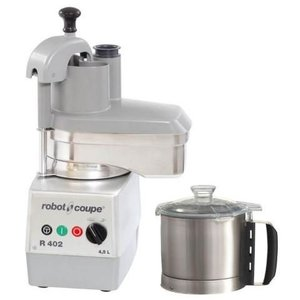 Robot Coupe Combi Cutter & Vegetable cutter R402 | Robot Coupe | 4.5 Liter | 2 speeds: 500 and 1500 RPM