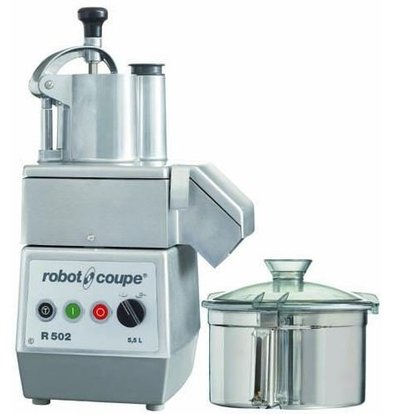 Robot Coupe Combi Cutter & Groentesnijder | Robot Coupe R502 | 1kW/400V | 5,5 Liter | 2 snelheden: 750 & 1.500 RPM
