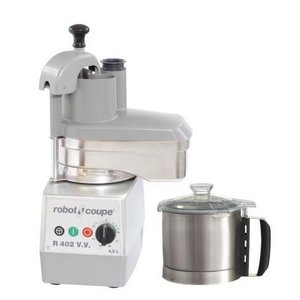 Robot Coupe Combi Cutter & Vegetable cutter R402 VV | Robot Coupe | 750W | 4.5 Liter | Variable Speed: 300-3500 RPM