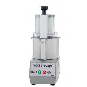 Robot Coupe Combi Cutter & Gemüseschneider R201 XL | Robot Coupe | 550W | 2,9 Liter | Geschwindigkeit: 1500 rpm