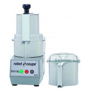 Robot Coupe Combi Cutter & Groentesnijder R211 XL | Robot Coupe | 550W | 2,9 Liter | Snelheid: 1.500 TPM