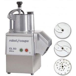 Robot Coupe Groentesnijder CL50 Ultra Pizza | Robot Coupe | tot 250Kg/uur | Snelheid 375 TPM