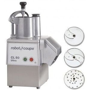 Robot Coupe Groentesnijder | Robot Coupe CL50 Ultra Pizza | tot 250Kg/uur | Snelheid 375 RPM