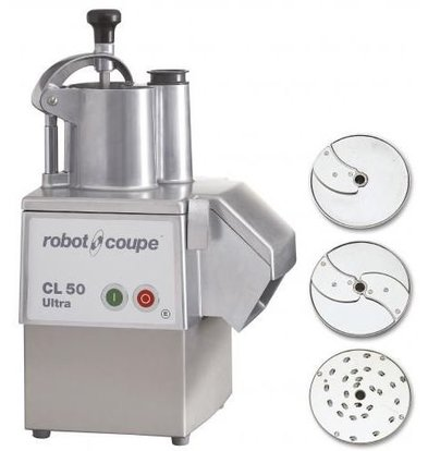 Robot Coupe Vegetable Cutter | Robot Coupe CL50 Ultra Pizza | up to 250Kg / h | Speed ​​375 RPM