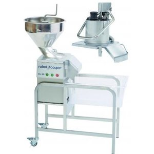 Robot Coupe Vegetable cutter CL55 Jack | Robot Coupe | 400V | up to 700kg / h | 2 speeds: 375 and 750 RPM