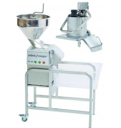 Robot Coupe Vegetable Cutter | Robot Coupe CL55 Jack | 400V | up to 700kg / h | 2 speeds: 375 and 750 RPM