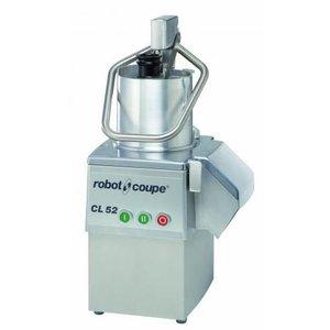 Robot Coupe Groentesnijder CL55 | Robot Coupe | 400V | tot 700Kg/uur | 2 Snelheden: 375 & 750 TPM