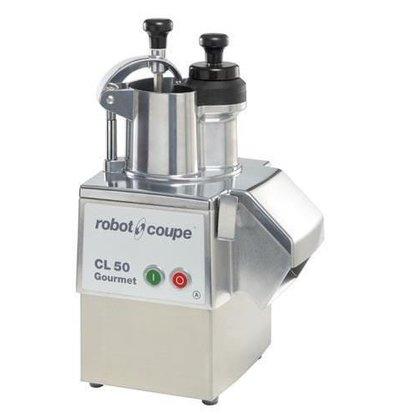 Robot Coupe Gemüseschneider | Robot Coupe CL50 Gourmet | bis zu 250kg / h | Geschwindigkeit: 375 RPM